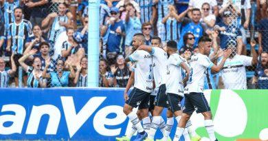Ouça os gols da vitória do Grêmio sobre o Novo Hamburgo