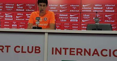 """192d1f2bab Rodrigo Dourado fala em sequência """"anormal"""" do Inter e pede confiança ao  torcedor"""