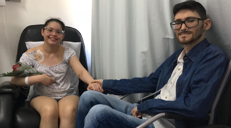 Agora Lucas aguarda por um doador. (Foto: Gabriela Milanezi/TV Pampa)