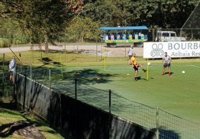 Ainda sem Rodrigo Moledo, Odair abre semana de treinos em Atibaia