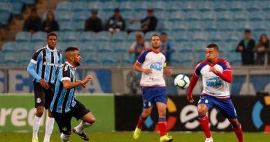 Grêmio empata com o Bahia e vaga na semifinal da Copa do Brasil será definida em Salvador
