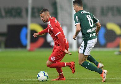 Inter perde para o Palmeiras e buscará classificação para próxima etapa da Copa do Brasil no Beira-Rio