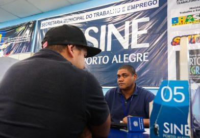 Mais de 150 vagas de emprego estão sendo oferecidas pelo Sine Municipal hoje