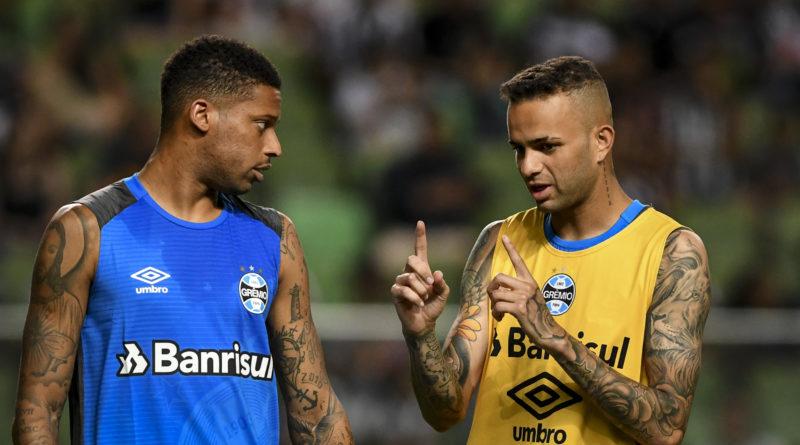 Luan fica de fora de treino e vira dúvida para encarar o Flamengo